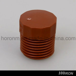 Pph Pipe Fitting-Thread Plug-Tank Connector-Adaptor (1/2′′)