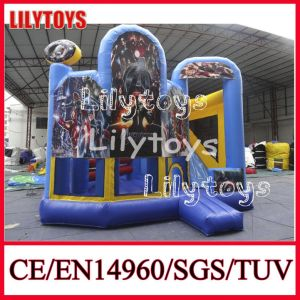 Amazing New Design Commercial Inflatable Bouncer Castle for Sale (J-BC-026)
