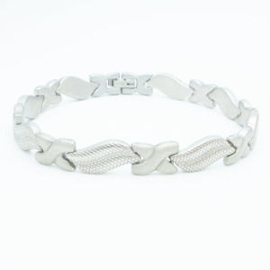 Stainless Steel Bracelet with Mangets