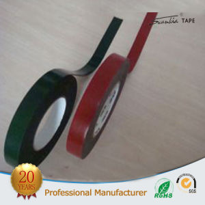 1mm Green and Red Double Sided PE Foam Tape pictures & photos
