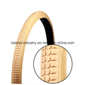 Colored Tire for Bike/Bicycle 26X11/2, 28X11/2, 24X13/8, 26X13/8, 27X13/8 pictures & photos