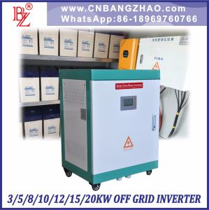 20kw 192V 216V 240V DC Input off Grid Solar Power Inverter with Charger pictures & photos