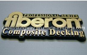 ABS Plastic Gold Nameplate / Gold Emblem /Badge