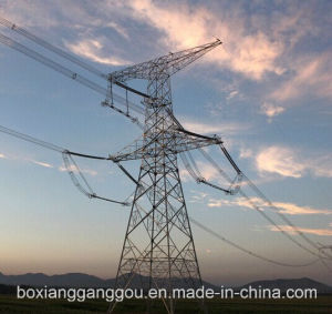 500kv Galvanized Power Transmission Angle Steel Tower