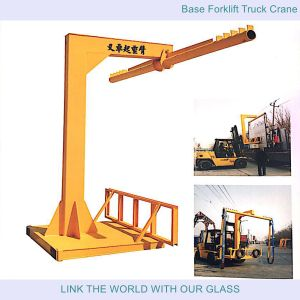 Base Forklift Truck Crane and Classic Forklift Truck Crane Arm for Glass Carry pictures & photos