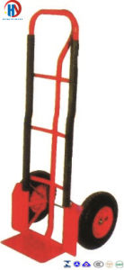 Metal Redpneumatic Hand Trolley pictures & photos