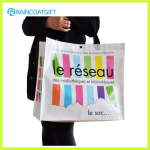 Reusable Eco-Friendly Promotional Laminated PP Woven Shopping Bag pictures & photos