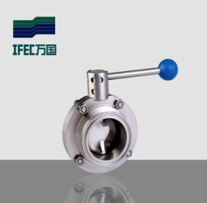 Wafer Type Butterfly Valves (IFEC-DF100002) pictures & photos