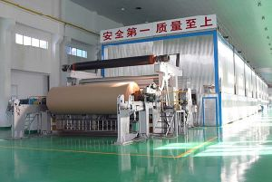 1880mm Fluting Paper Machine, Paper Machine, Waste Recycle From Henan pictures & photos