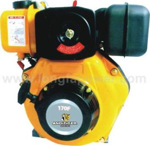 Ce&Soncap Approved 4.2HP Good Quality Diesel Engine (AD170F) pictures & photos
