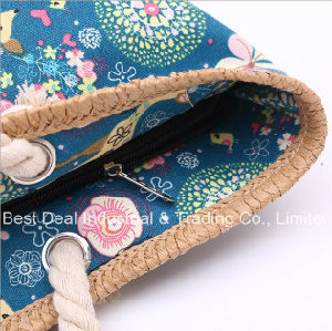 Animal Pattern Straw Bag pictures & photos