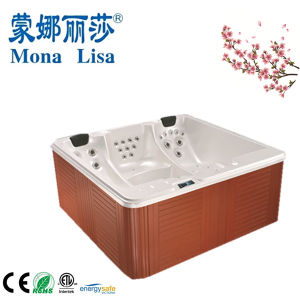 Monalisa High Quality Square Outdoor Massage Hot Tubs SPA pictures & photos