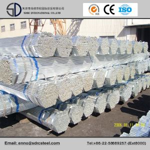 Galvanized Surface Round Steel Pipe pictures & photos