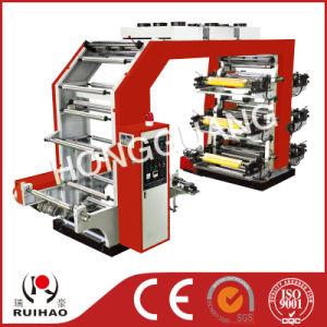 High Speed 6 Color Flexo Printer pictures & photos