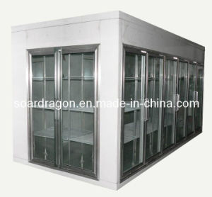 Supermarket Glass Door Display Walk in Cooler (customized) pictures & photos