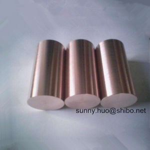 Polished Tungsten Copper Alloy (WCu) Rod, Wolframcopper Bar pictures & photos