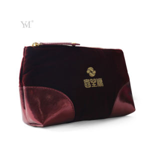 Promotional Fashion Sublimation Hot Selling OEM Velvet Ladies Cosmetic Bag pictures & photos