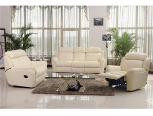 Promotional Leather Sofa 1+2+3 Big Loadability pictures & photos