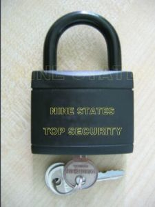38mm Pull Iron Padlock with Plastic (364) pictures & photos