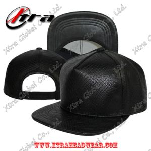 5 Pieces Snakeskin Leather Cap pictures & photos