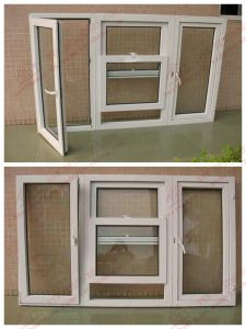 PVC Tilt and Turn Combining Vertical Sliding Windows (BHP-TT04)