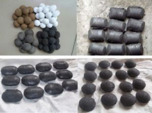 3 Tons Per Hour Charcoal Coal Powder Ball Pillow Press Machine pictures & photos