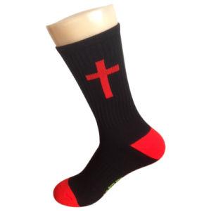Nylon Color Cushion Socks for Church pictures & photos