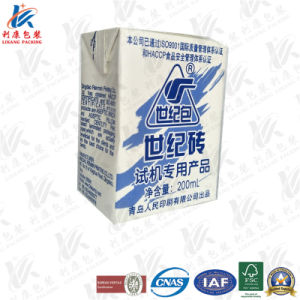 200ml Base Aseptic Packaging Material with Laminating pictures & photos