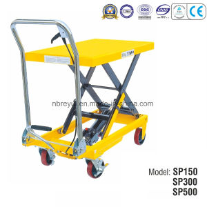 Us Type Scissor Lift Table pictures & photos