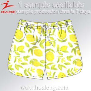 Healong Plain Dye Sublimated Printed Men Cool Beach Shorts pictures & photos
