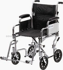 Steel Manual Transport Wheelchair (1117)