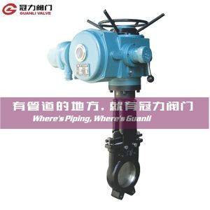 Electric Operated Knife Gate Valve pictures & photos