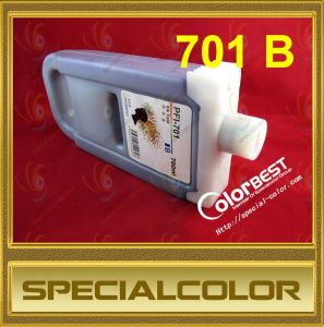 Blue Color Compatible Pfi-701 Ink Cartridge Tank for Canon Ipf Printers pictures & photos