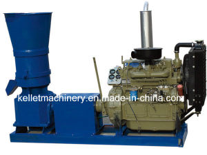 Diesel Engine Small Flat Die Pellet Machine with Competitive Price