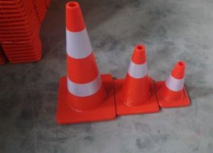 "28"" High Orange PVC Saftey Traffic Cones of Hfpc-70c"
