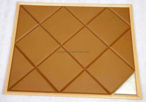 Genuine Leather Acoustic Panel
