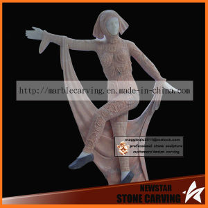 Madam of Butterfly Statues in Ballerina Dancing Maidens Ms-072 pictures & photos