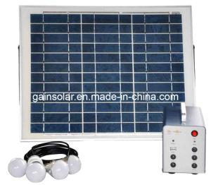 Plug & Play Portable15W Solar Lighting System
