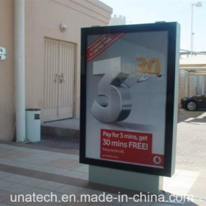 Advertising Aluminium LED Light Box Outdoor Street Road Scrolling Billboard pictures & photos