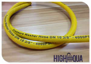 Colorful Cloth Surface High Pressure Cleaning Hose with High Performance pictures & photos