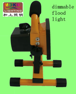 CE RoHS PSE Emerhency Light Dimmable Rechargeable LED Flood Light