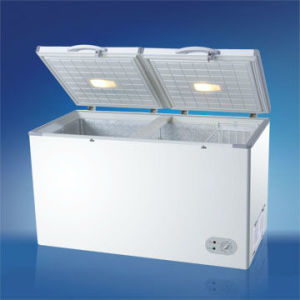 608L Manual Defrost Foaming Commercial Double Freezer Bd-608L