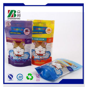 Customized Stand up Handled Aluminum Foil Plastic Food Bag pictures & photos