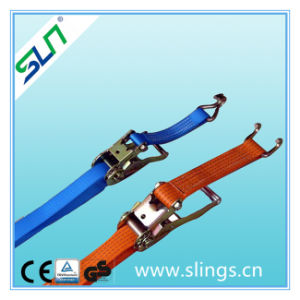 Sln Ratchet Strap with Aluminium Handle and Flat Hook pictures & photos