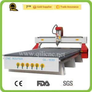 Ql-M25 Jinan Atc Disc Type Wood CNC Router Machine pictures & photos