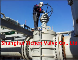 API 6D Cast Steel Metal Seat Plug Valve pictures & photos