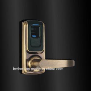 Zinc Alloy Fingerprint Door Lock Single Latch pictures & photos