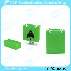 Marketing Promotion Custom Shopping Bag USB Flash Drive (ZYF1032) pictures & photos