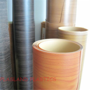 PVC Recon Veneer / Engineered Woodgrain Foil pictures & photos
