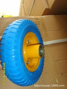 Environmental PU Foam Wheel (8X2.50-4) . PU Rubbber, Solid Wheel pictures & photos